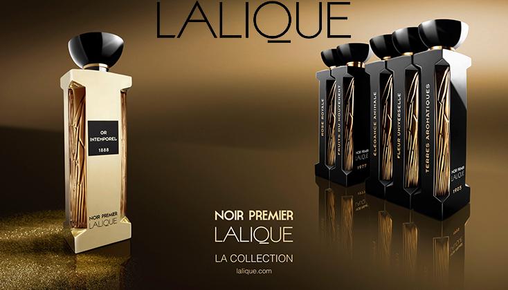 Lalique Noir Premier Collection; exclusieve eigentijdse geuren