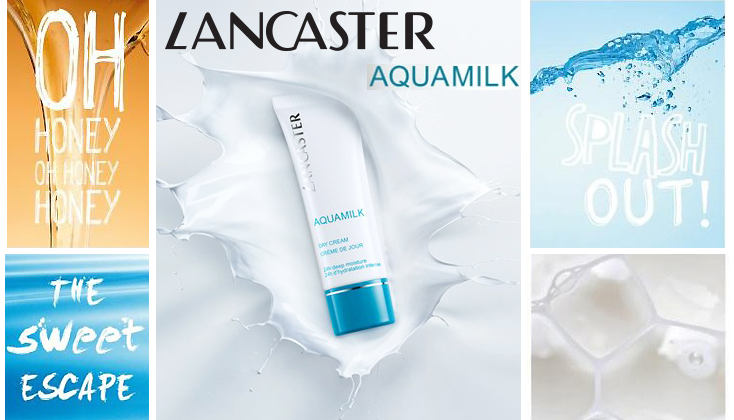 Lancaster Aquamilk 24h deep hydration with milk and honey
