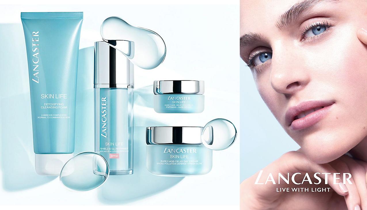 Lancaster Skin Life; laat je huid ademen voor een jeugdige frisse teint