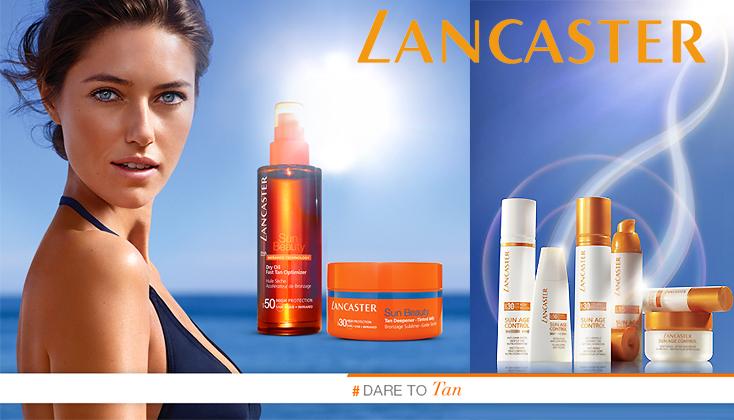 Lancaster Sun Zonneproducten: Dare to tan !