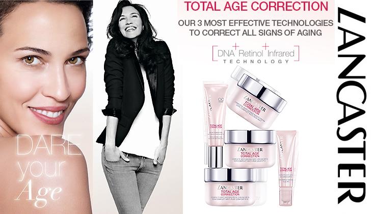 Lancaster Total Age Correction; corrigeert de tekenen van vroegtijdige huidveroudering