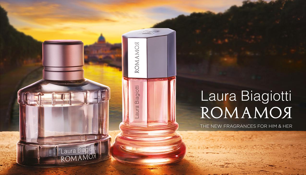 Laura Biagiotti Romamor; een eerbetoon aan de liefde