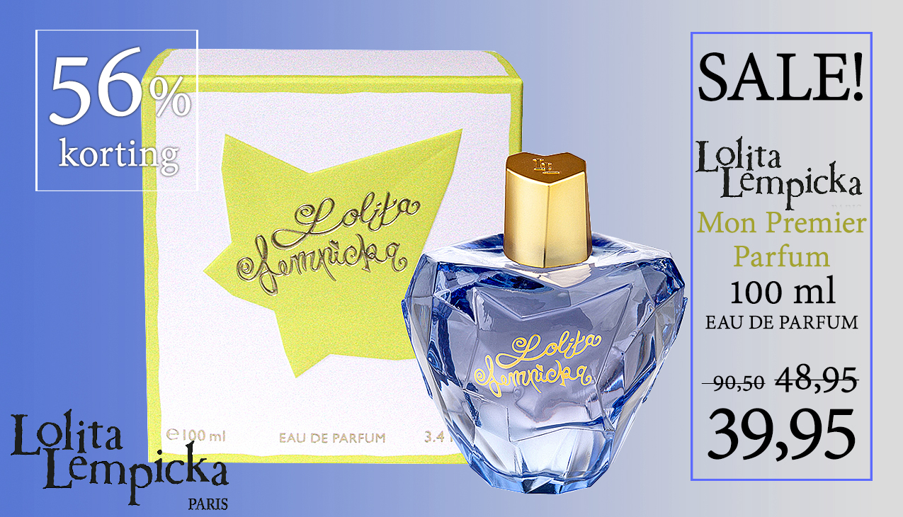 56% korting! Lolita Lempicka Mon Premier Parfum 100ml eau de parfum