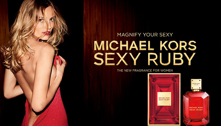 Michael Kors Sexy Ruby; Magnify your sexy