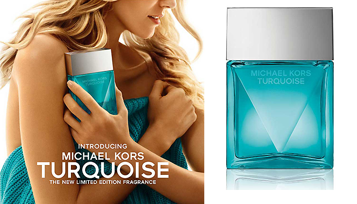 Michael Kors Turquoise; natuurlijke frisheid, moderne sensualiteit