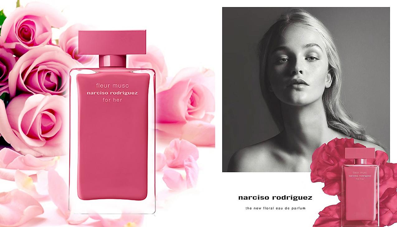 Narciso Rodriguez For Her Fleur Musc; charmant en elegant