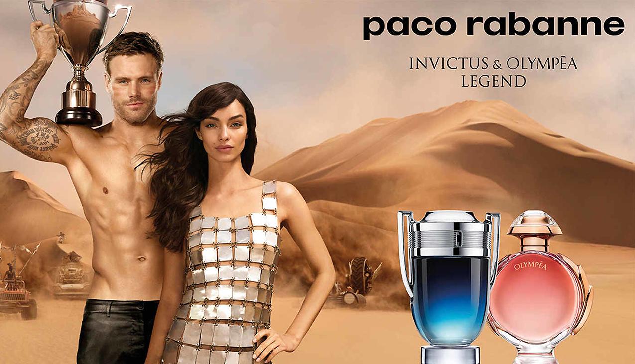 Nieuw! Paco Rabanne Invictus & Olympéa Legend