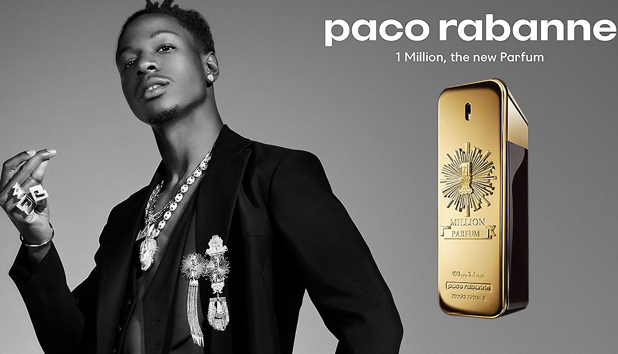 Paco Rabanne One Million Parfum; net zo uniek als zijn drager