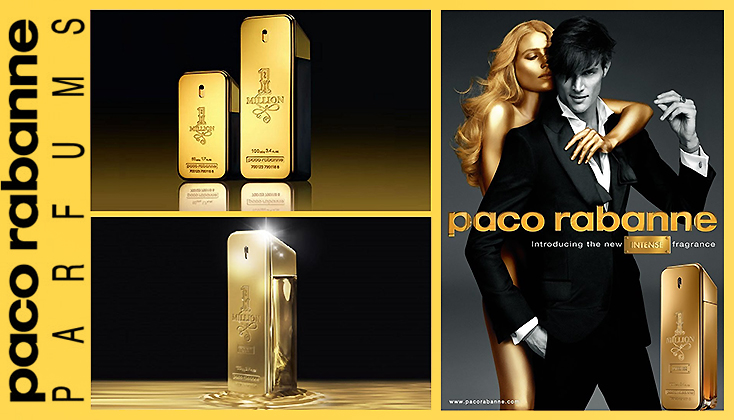 Paco Rabanne 1 million Men; een elegante,unieke vermenging van essences