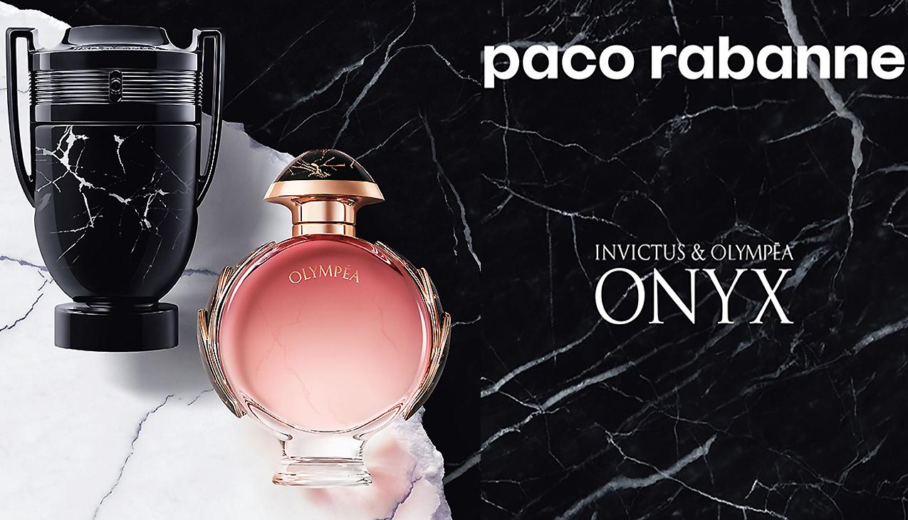Nieuw! Paco Rabanne Invictus & Olympea Onyx Collectors Edition