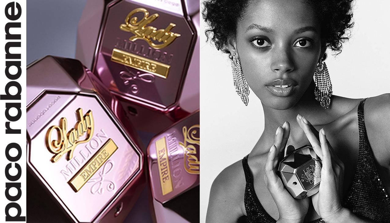 Lady Million Empire; het parfum voor zelfverzekerde powervrouwen!