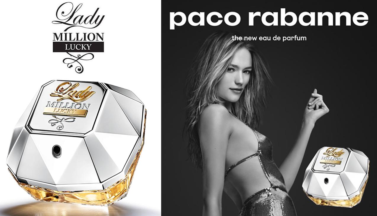 Lady Million Lucky; euforische frisheid in een sensuele  compositie
