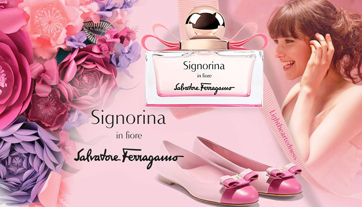 Ferragamo Signorina In Fiore; een energieke bloemenexplosie