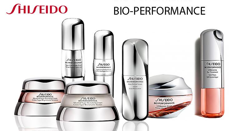 Shiseido Bio Performance huidverzorgingsproducten