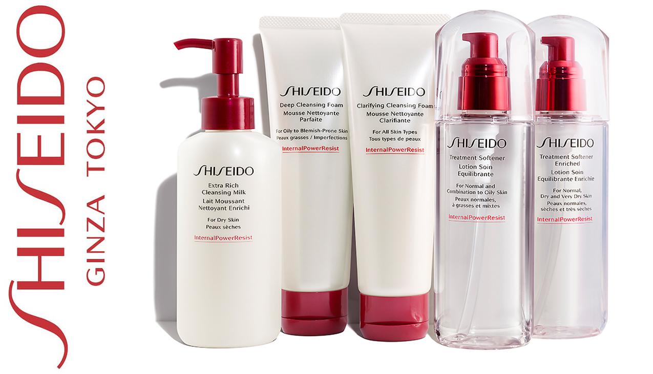 Shiseido Daily Essentials; geef uw huid de stralende, frisse uitstraling die het verdiend