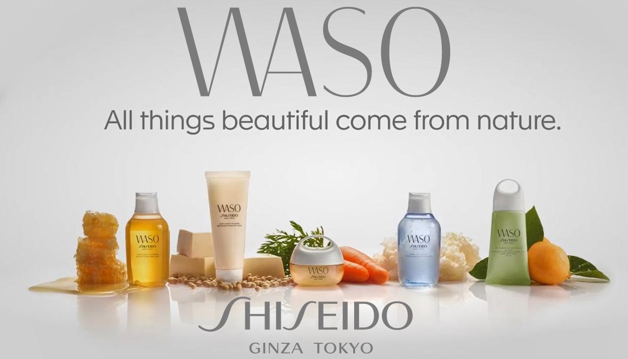 Nieuw! Shiseido Waso huidverzorgingsproducten
