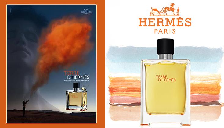 Terre d'Hermès; voor de van nature poëtische man