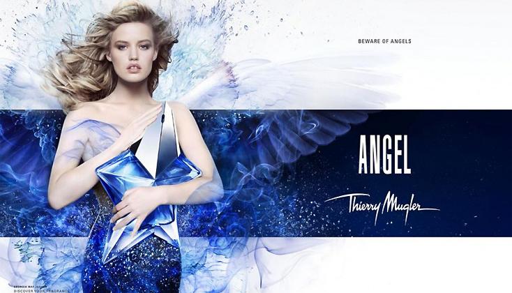 Thierry Mugler Angel; Puur, zacht en onschuldig.