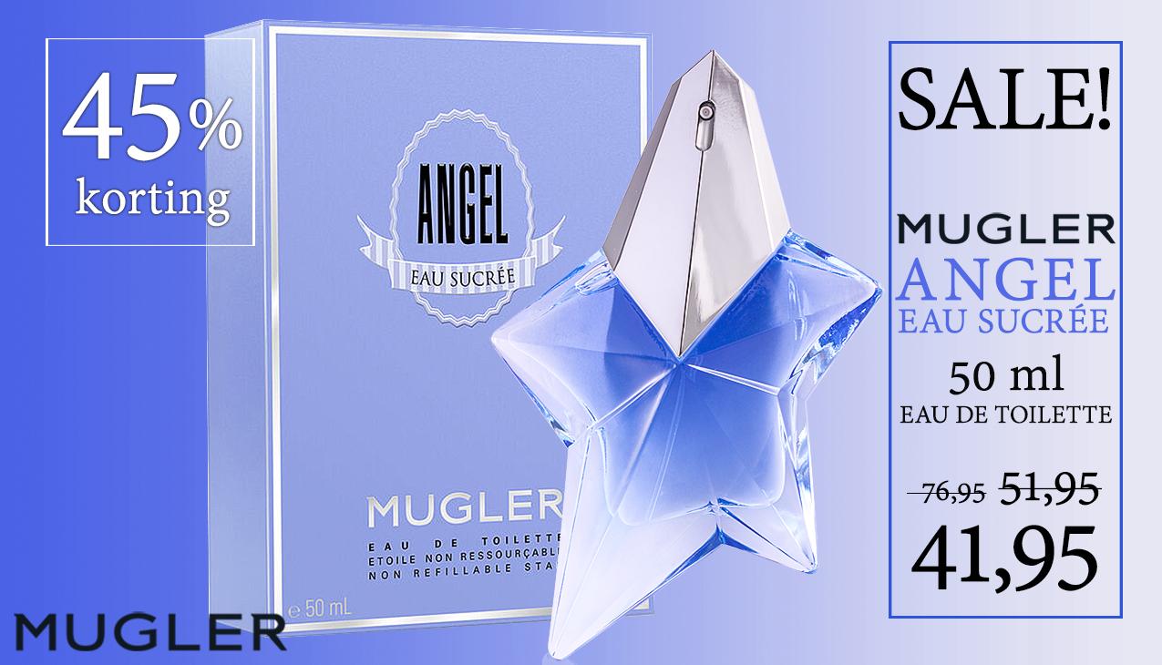 Aanbieding! Thierry Mugler Angel Eau Sucrée 50ml eau de toilette