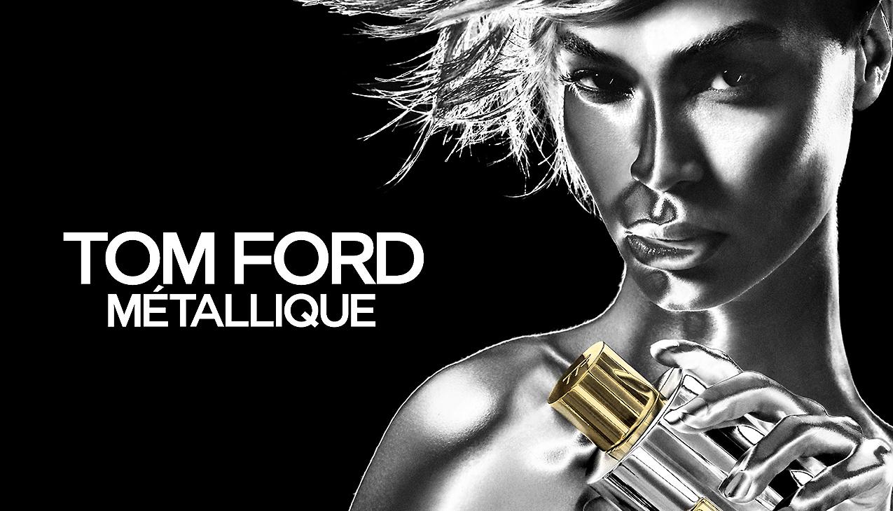 Nieuw! Tom Ford Metallique; eigenzinnig, onverschrokken, verslavend