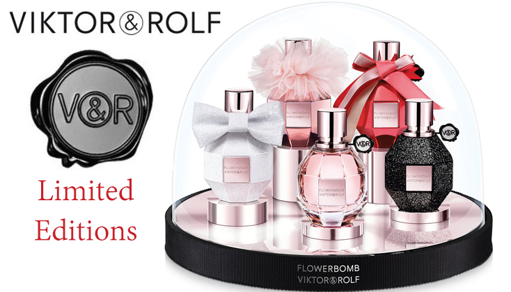 Viktor & Rolf Flowerbomb Limited Editions