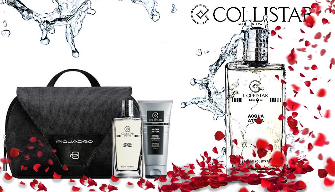 Collistar Acqua Attiva gift set 45% Valentijnskorting!
