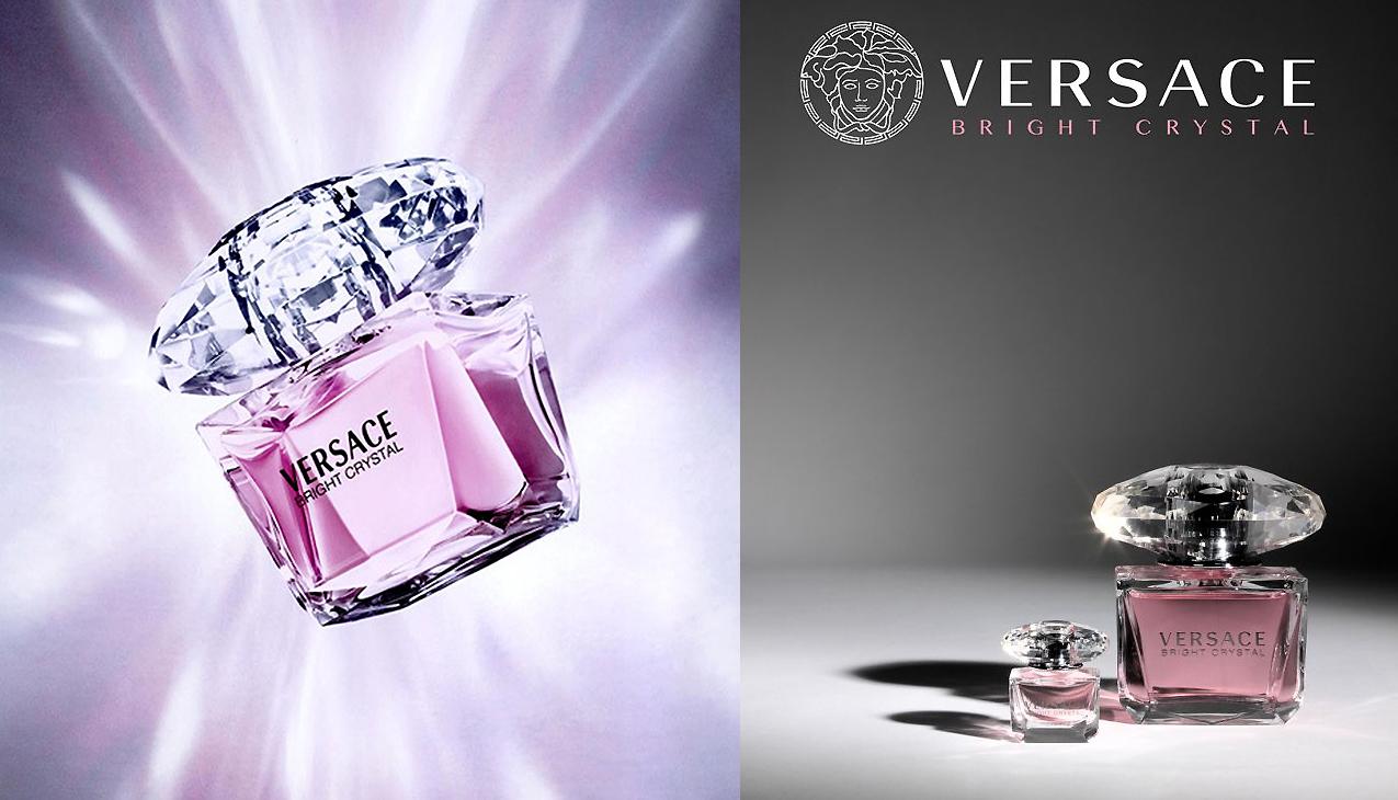 Versace Bright Crystal; ontworpen voor de sterke en zelfverzekerde vrouw
