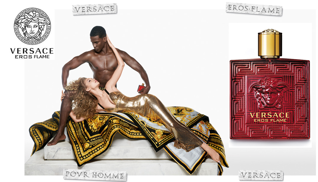 Nieuw! Versace Eros Flame; een vurige romance