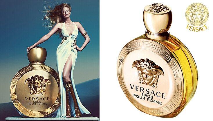 Versace Eros Pour Femme; geef toe aan je verlangens!