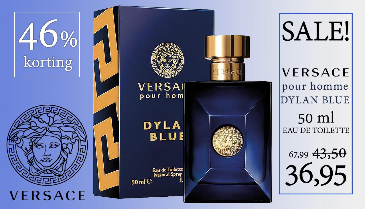 Aanbieding! Versace Pour Homme Dylan Blue 50ml eau de toilette