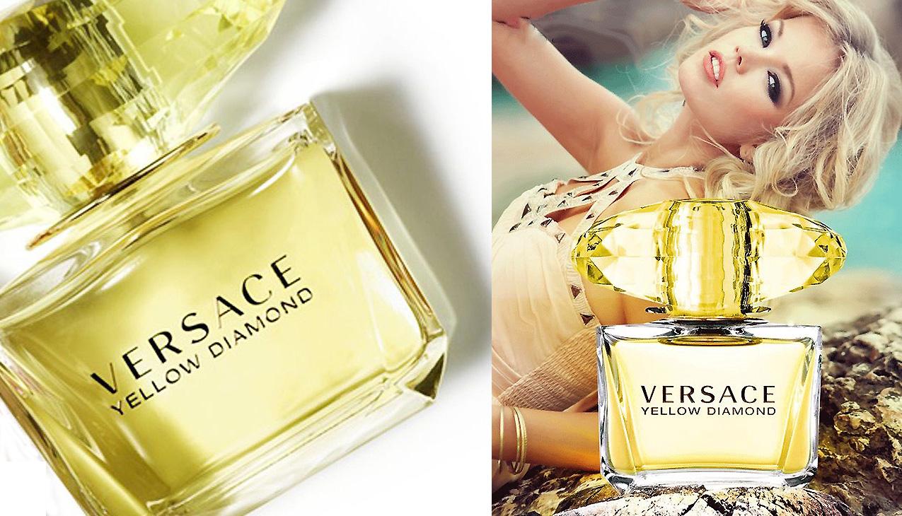 Versace Yellow Diamond; zeldzame elegantie
