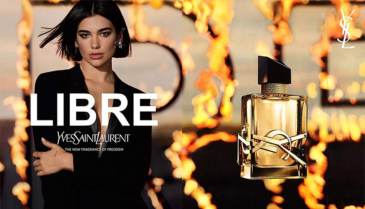Nieuw! Yves Saint Laurent Libre; de nieuwe geur van vrijheid