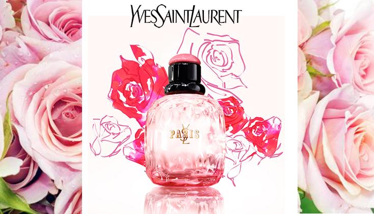 YSL Yves Saint Laurent Paris Premieres Roses