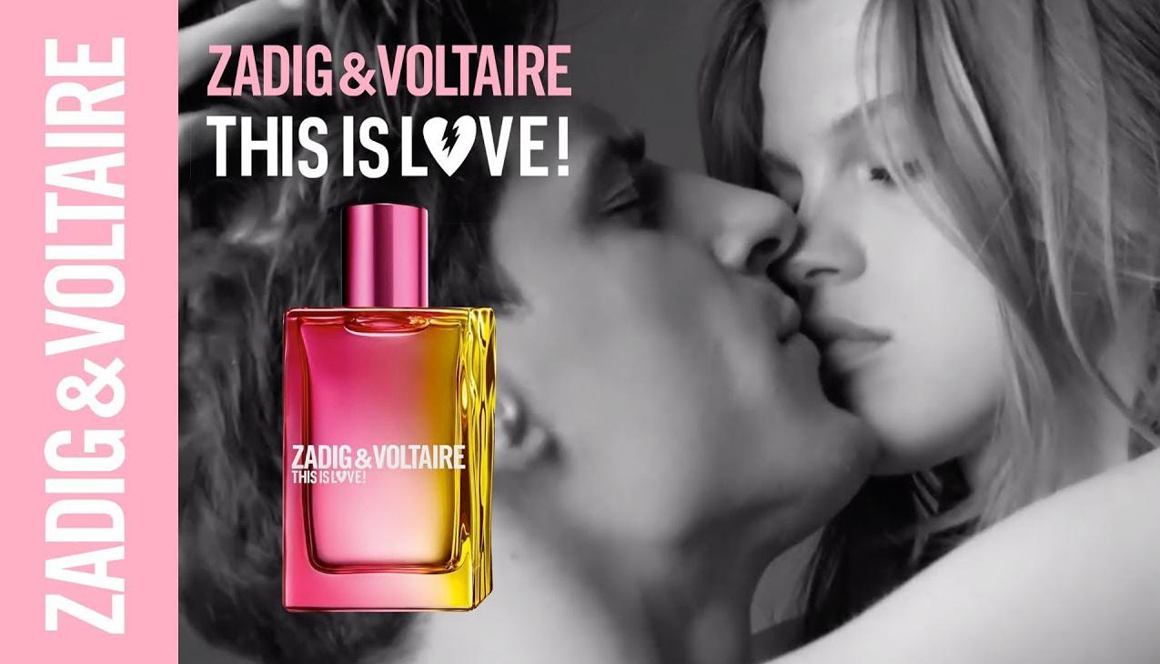 Nieuw! Zadig & Voltaire This is Love! For Her; een geur om te verleiden.