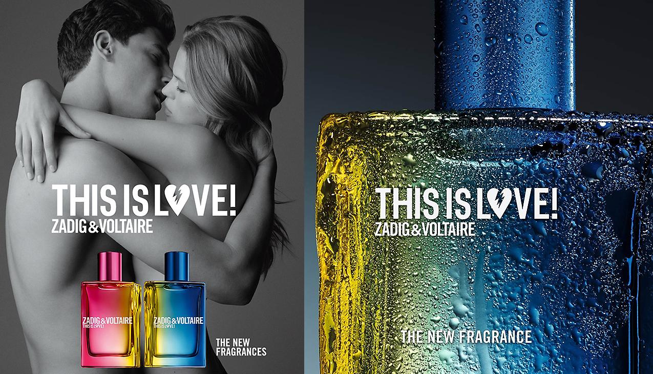 Zadig & Voltaire This Is Love! For Him; een verleidelijke en gepassioneerde geur voor de moderne man