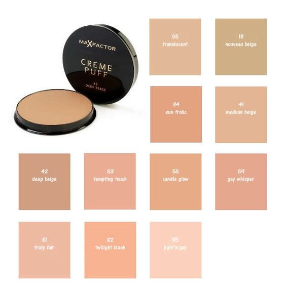 Max Factor Pressed Make Up Foundation Pan Cake