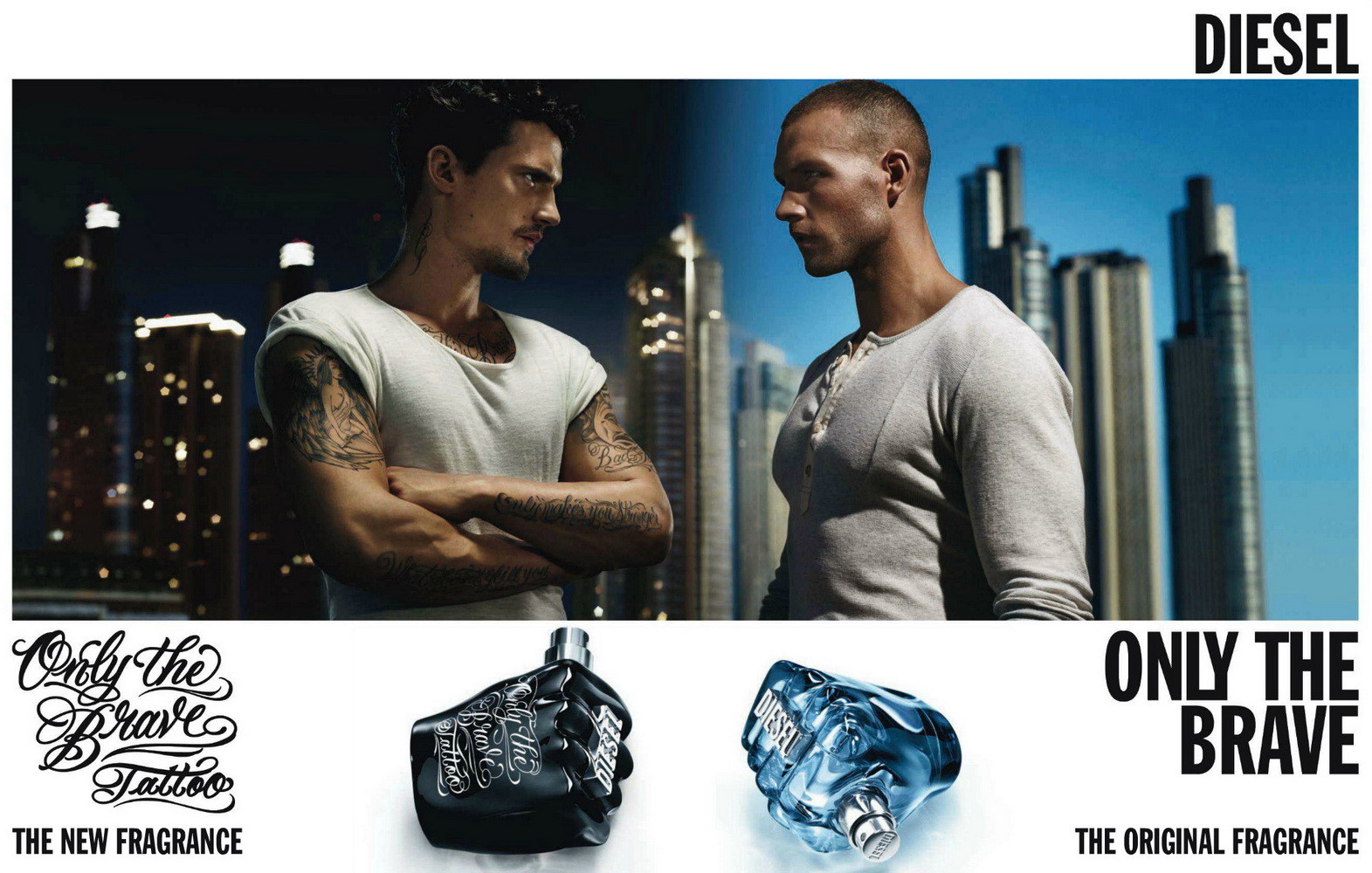 diesel only the brave tattoo 200ml eau de toilette spray. Black Bedroom Furniture Sets. Home Design Ideas