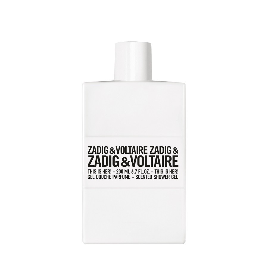 zadig voltaire this is her 200ml showergel. Black Bedroom Furniture Sets. Home Design Ideas