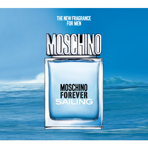 Moschino Forever Sailing 100ml eau de toilette spray - Tot 35 euro heren -  Valentijnsdag - ParfumCenter.nl