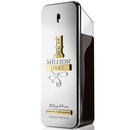 Paco Rabanne 1 Million Lucky 200ml eau de toilette spray