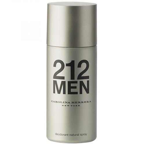 Carolina Herrera 212 Men 150ml Deodorant Spray Bevat een deukje