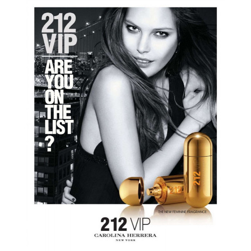 Carolina Herrera 212 VIP 80ml eau de parfum spray