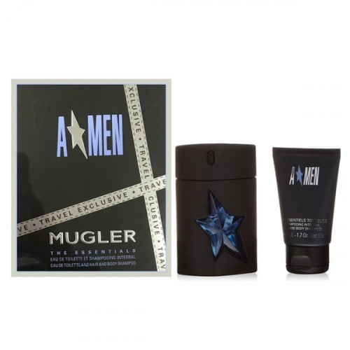 Thierry Mugler A*Men Set 100ml edt + 50ml Showergel