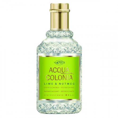 4711 Acqua Colonia Lime & Nutmeg 170ml Eau de Cologne Splash & Spray