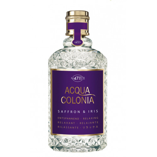 4711 Acqua Colonia Saffron & Iris 170ml Eau de Cologne Splash & Spray