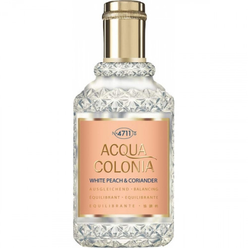 4711 Acqua Colonia White Peach & Coriander 170ml Eau de Cologne Splash & Spray