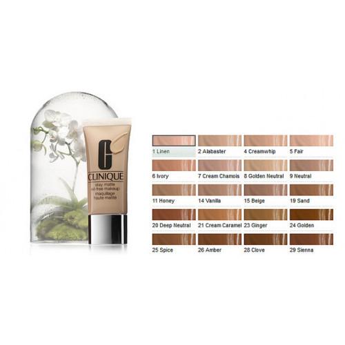Clinique Stay-Matte Oil-Free Makeup CN 70 Vanilla 30ml Foundation