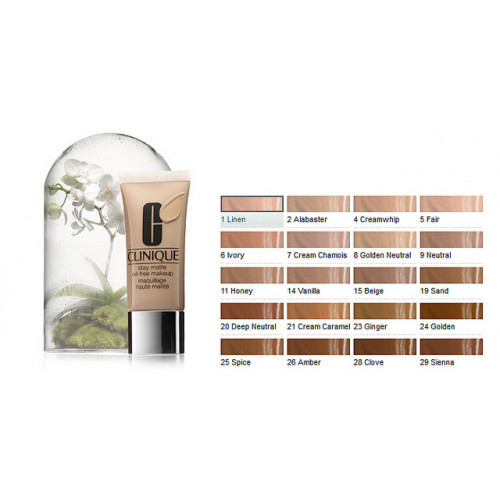 Clinique Stay-Matte Oil-Free Makeup CN28 Ivory 30ml Foundation
