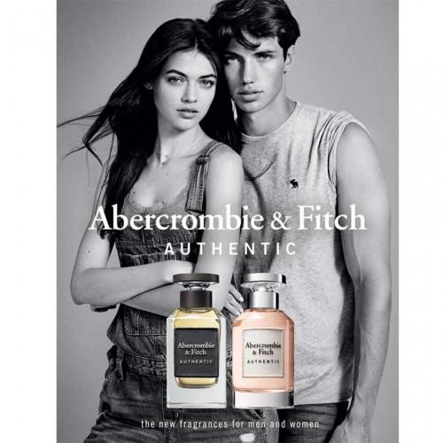 Abercrombie & Fitch Authentic Man 100ml eau de toilette spray -  Citrusachtige geuren - Geurnoten - Over Parfum - ParfumCenter.nl