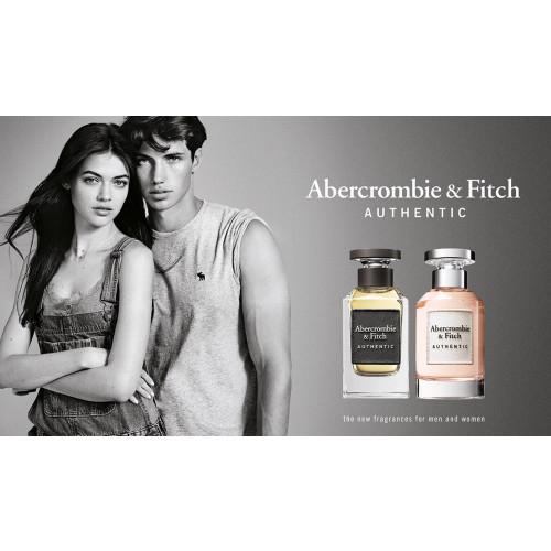 Abercrombie & Fitch Authentic Man set 100ml eau de toilette spray + 200ml Showergel + 15ml tasspray